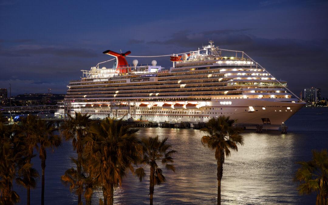 Carnival Cruise Line extiende la pausa desde EE. UU. hasta mayo de 2021